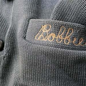 1950〜60's Pale blue wool cardigan