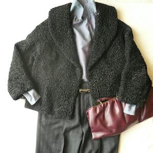 50's Astrakhan jacket