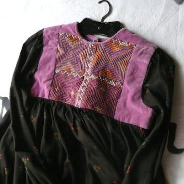 40's afghan dress