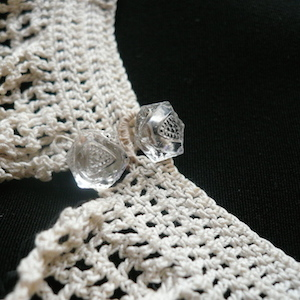 Antique Crocheted lace collar
