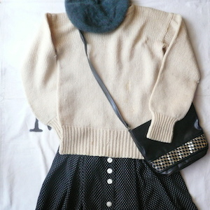 50's wool sweater
