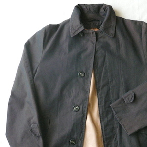 50〜60's dark brown coat