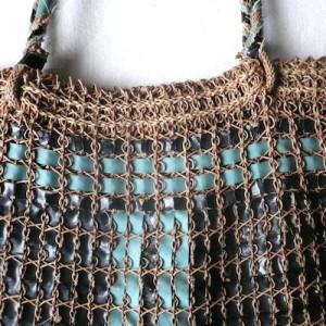 40's woven bag
