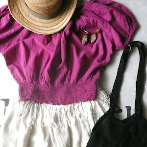 80's fringe skirt