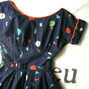 50's jonathan logan cotton dress