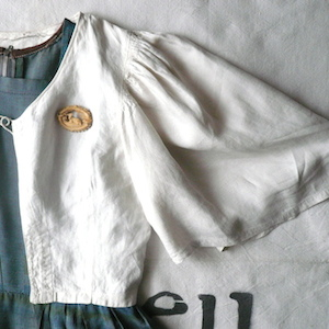 50's blue green  plaided dress