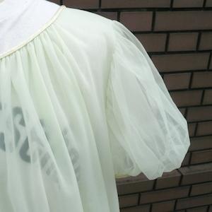 60〜70's limegreen lingerie & 70's T-shirt