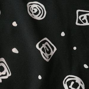 90's monotone onepiece dress