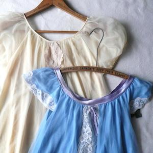 60's lingerie dress
