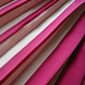 80's raspberry pink pleated skirt