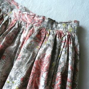 80's cotton tops & hand made skirt