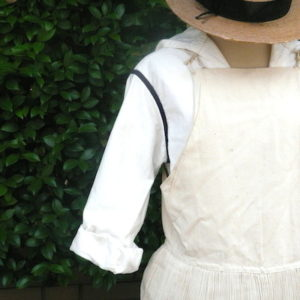 Antique apron dress