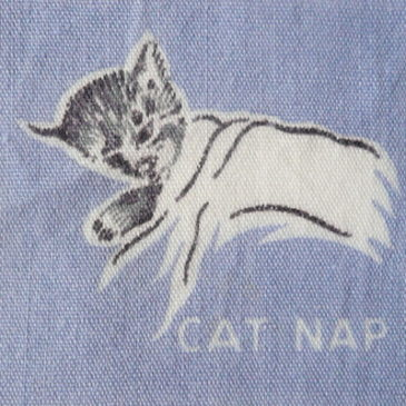 60's cat nap pajama pants