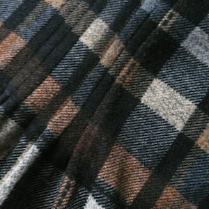 used plaid one-piece dress