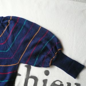 70's balloon sleeve sweter