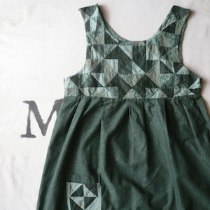 70's patchwork dress