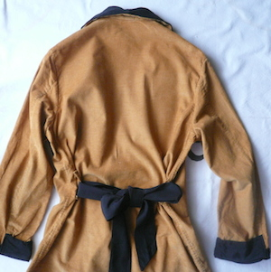 50's corduroy dressing gown