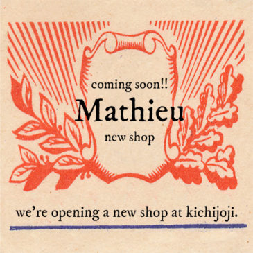 Coming soon!! our new shop at Kichijoji★