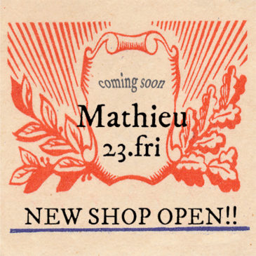 ★ 23.Fri ★NEW SHOP OPEN!!