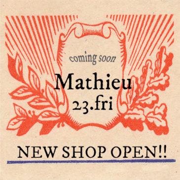 ★ 23.Fri ★NEW SHOP OPEN!!