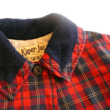 50〜60's plaid kids' coat