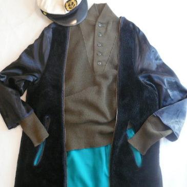 78's U.S.NAVY raincoat liner & 51's U.S.ARMY sweater