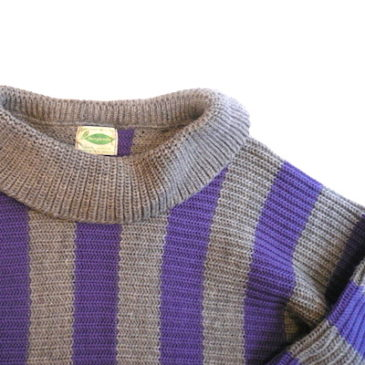 50〜60's sears stripe sweater
