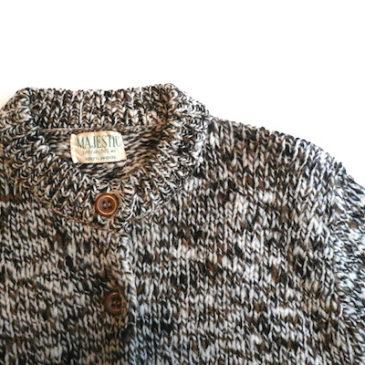 60's knit cardigan