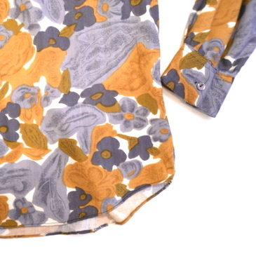 90's flower patterned shirt
