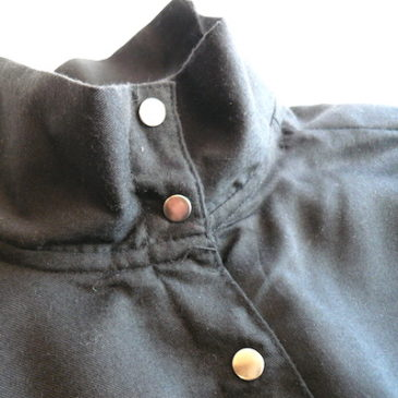 Late 70's〜80's snap button blouse