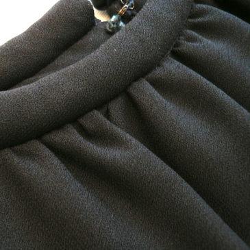 60's black dress