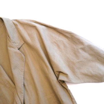 lete 70's~80's cotton coat