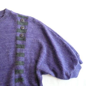 80's knit & skirt
