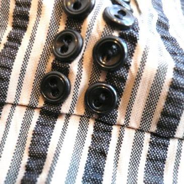 60's stripe dress
