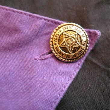 80's Giorgio di Sant'Angelo trousers & paneled shirt