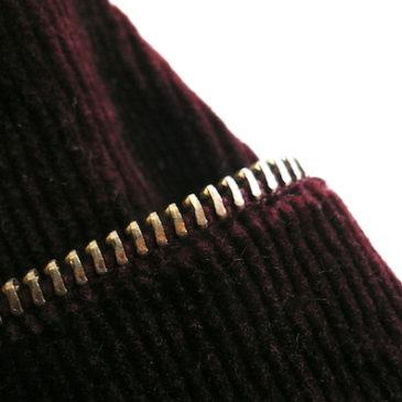 70's corduroy skirt & 90's blouse