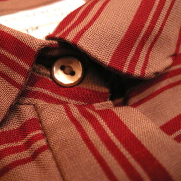 Late 70's stripe shirt dress
