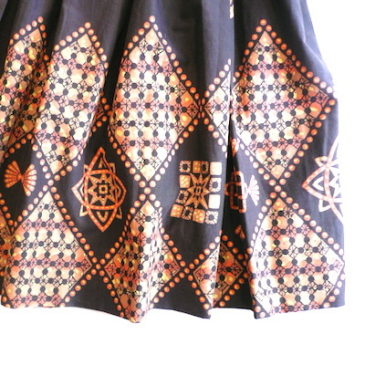 50's oriental pattarn skirt