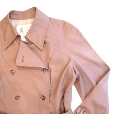 70's London fog trench coat