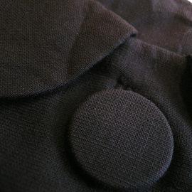 60's navy one-piece dress
