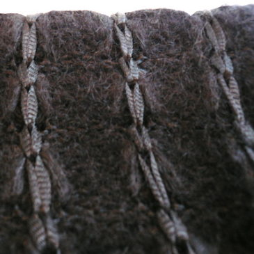 80's black mohair sweater & 60's corduroy skirt