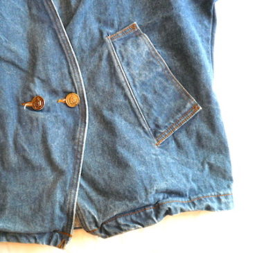 80〜90's denim jacket