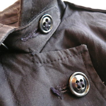 80's military woman's coat