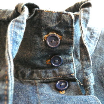 80〜90's denim coat
