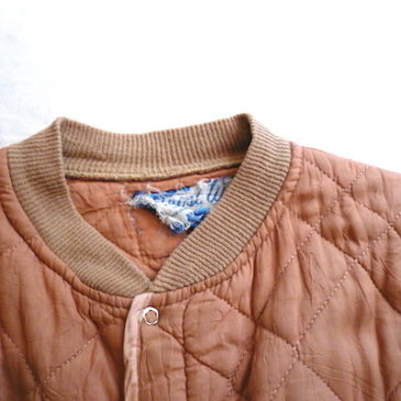 50's quilting jacket & miritally trousers