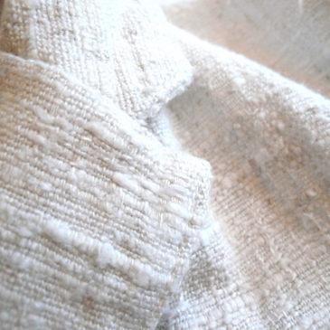 Used white JKT & polka dot skirt