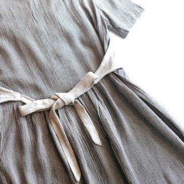 90's beige one-piece dress