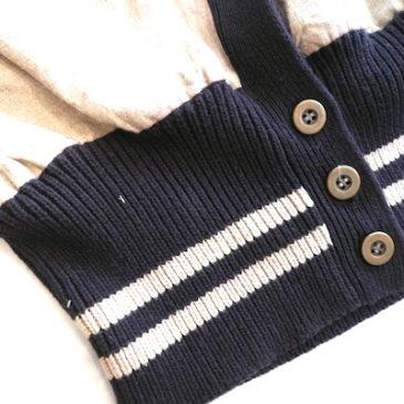 90's linen long knit cardigan