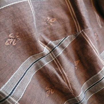 50's cotton tops & brown slacks
