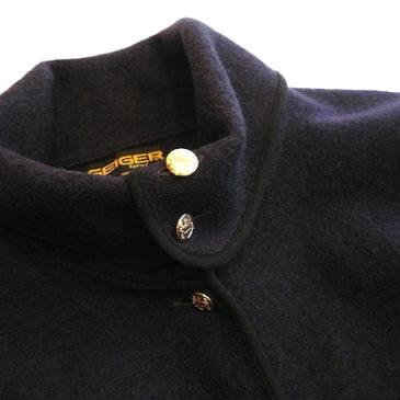 80〜90's tyrol jacket & plaid pleated skirt